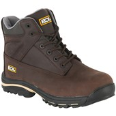 JCB Workmax Safety Boot Dark Brown
